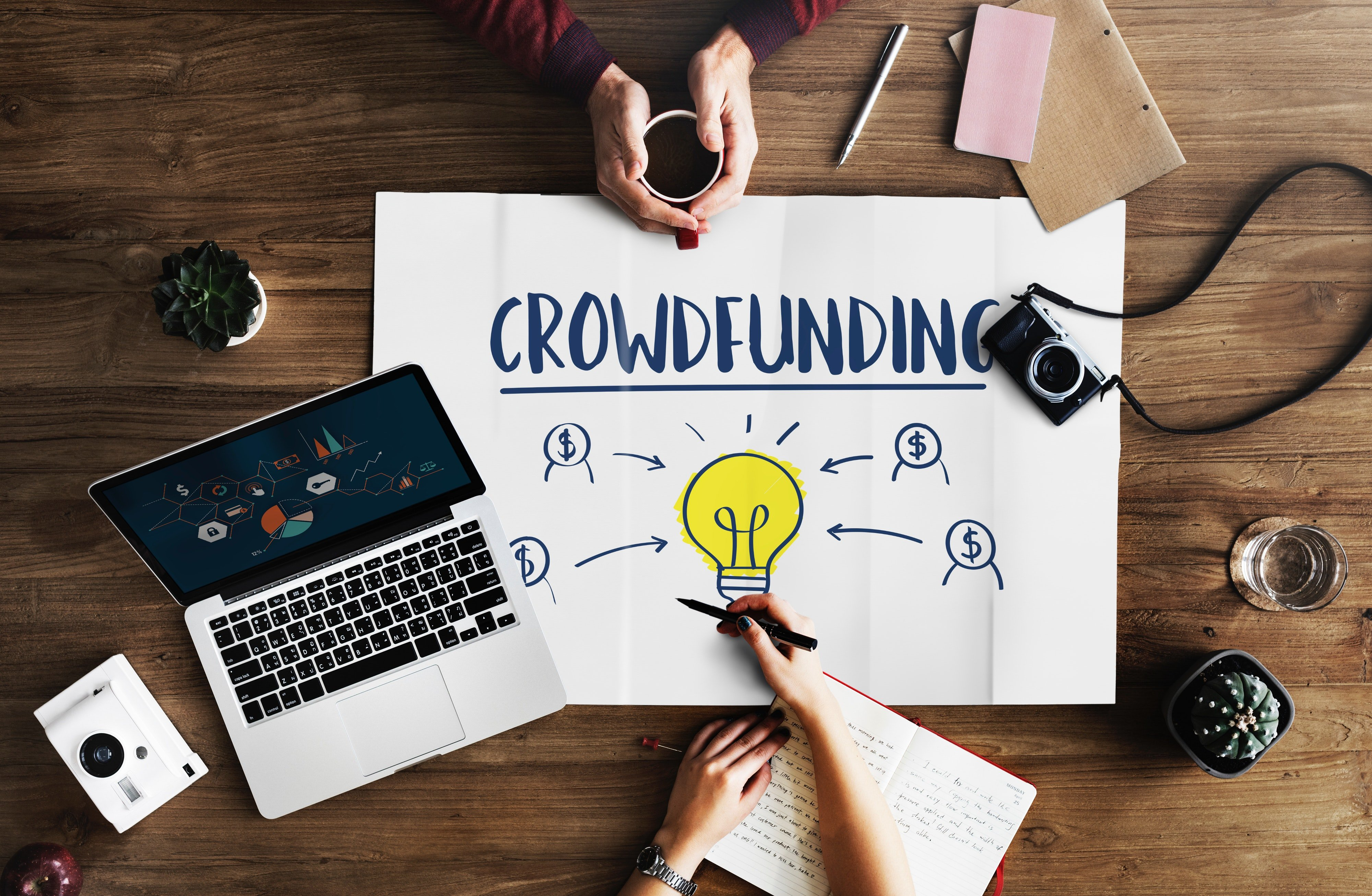 Equity crownfunding